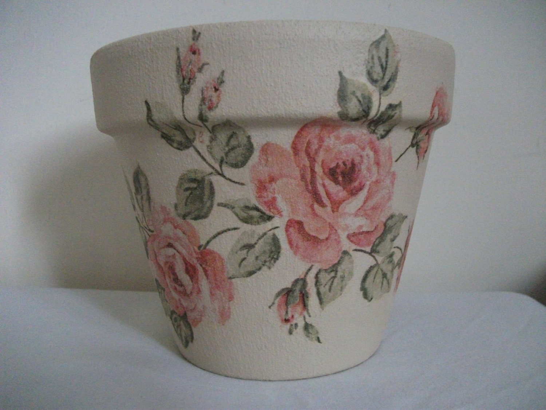 Pink Rose - PotsByDesignuk
