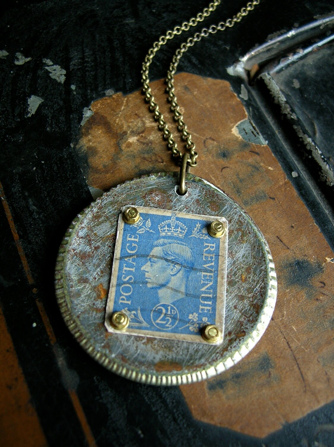 Jewelry Postage Stamp Craft