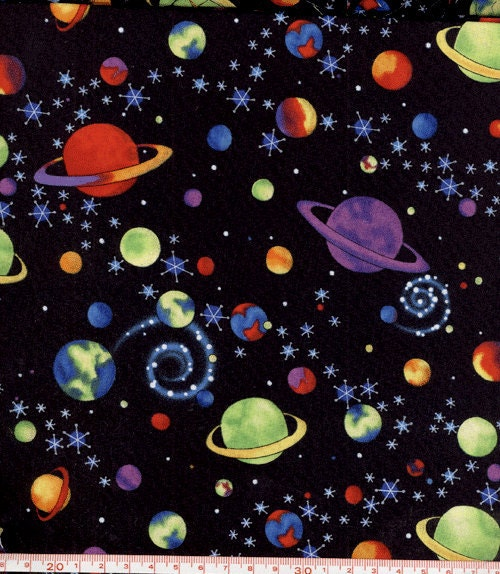 Outer space fabric kids pinterest outer space for 3d space fabric