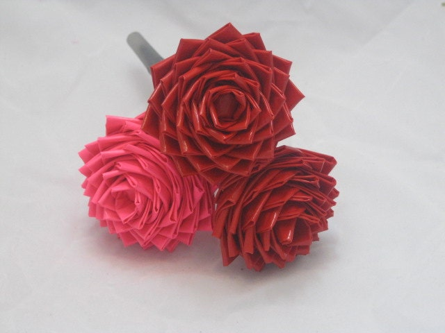 A Rose that never wither or die Duct Tape Valentine's Rose pen