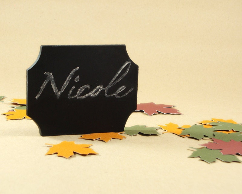 Name Place Cards for Weddings Chalkboard Signs From EventDesignShop