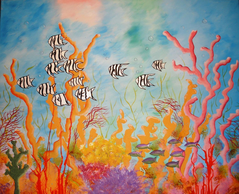 Coral Reef Print 8 X 10