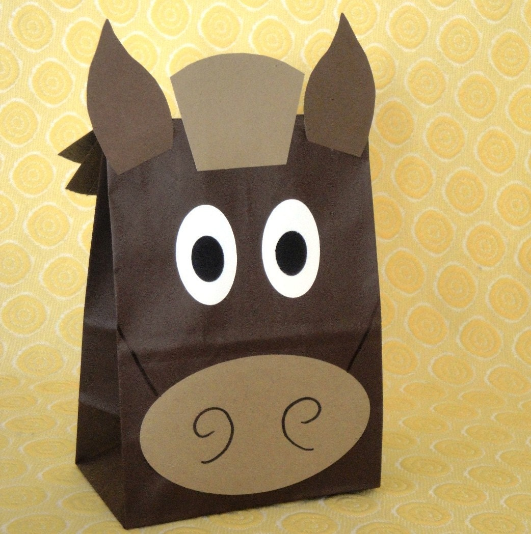 Horse Birthday Party Treat Bag Ideas