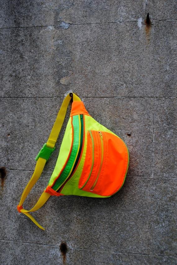 neon bum bag fanny pack
