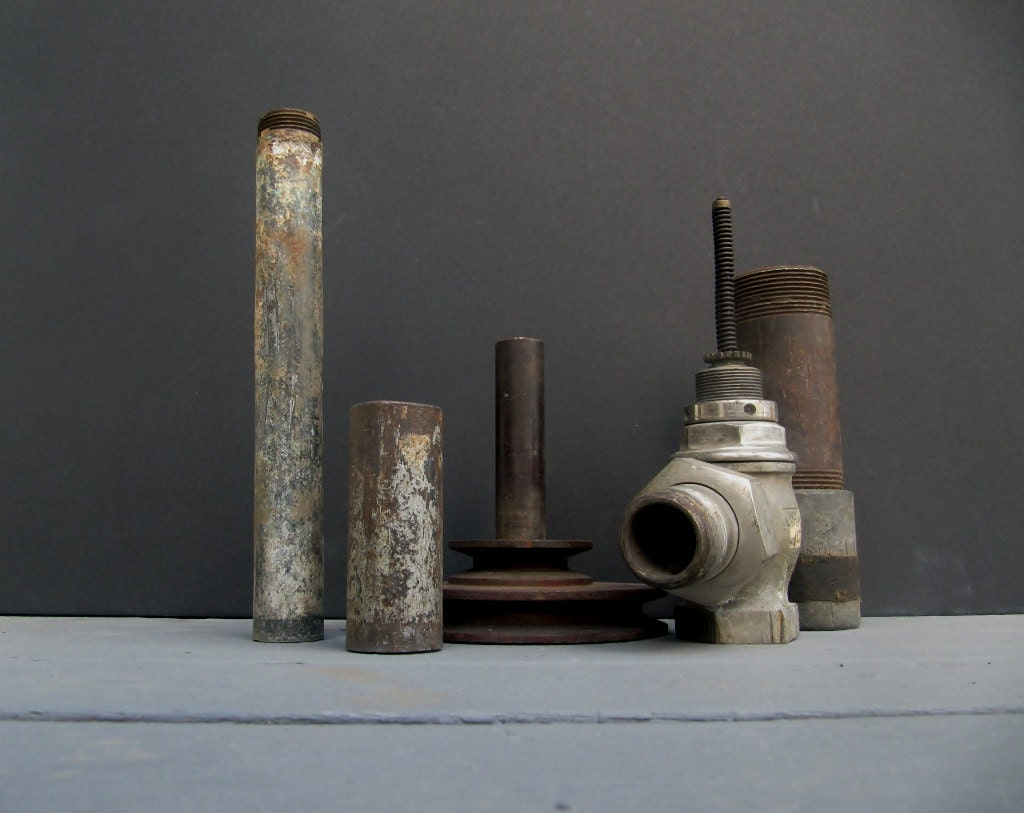 Industrial Salvage Metal Pipes - Modred12