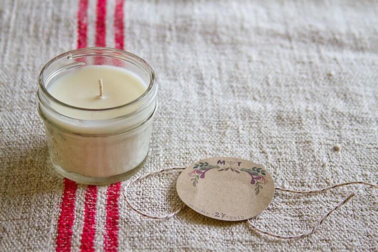 Signature Candle - (15) 4 oz Mason Jar Candles with Lavender Scent - Bulk Order
