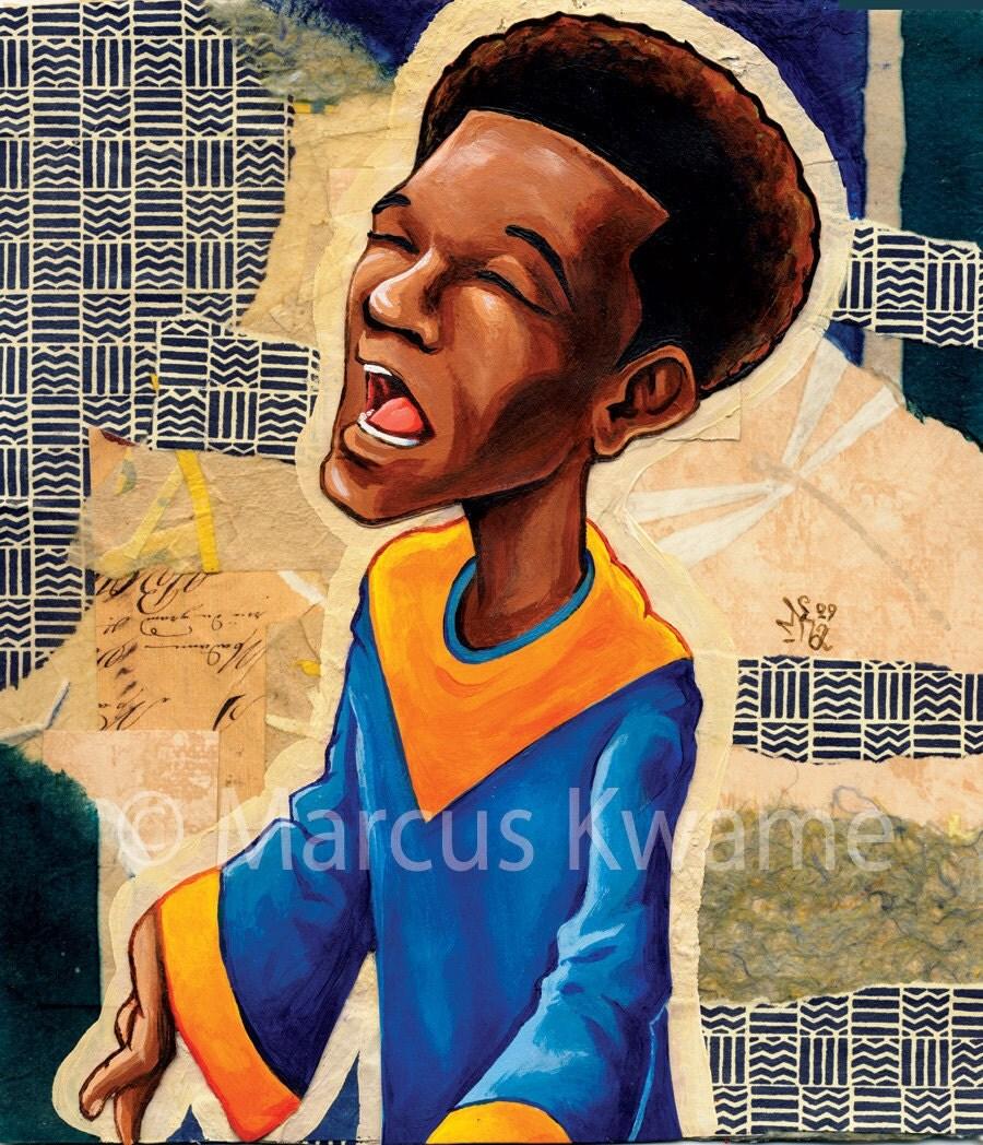 Imani (faith) 7x8 Fine Art Print
