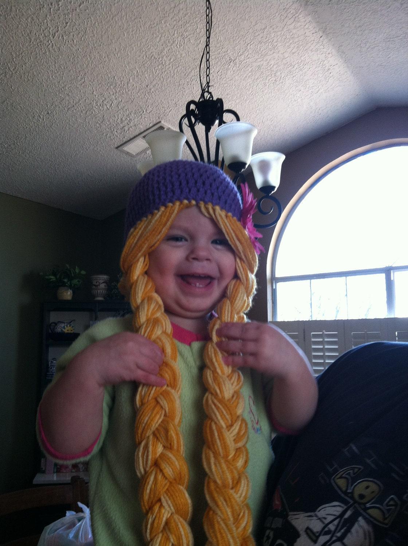 Rapunzel Inspired Hat