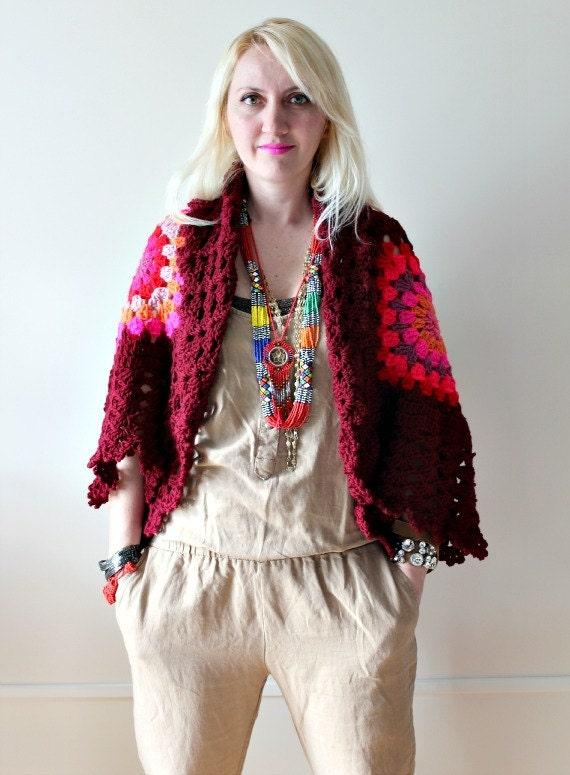 Afghan Crochet Cardigan - LoveandKnit