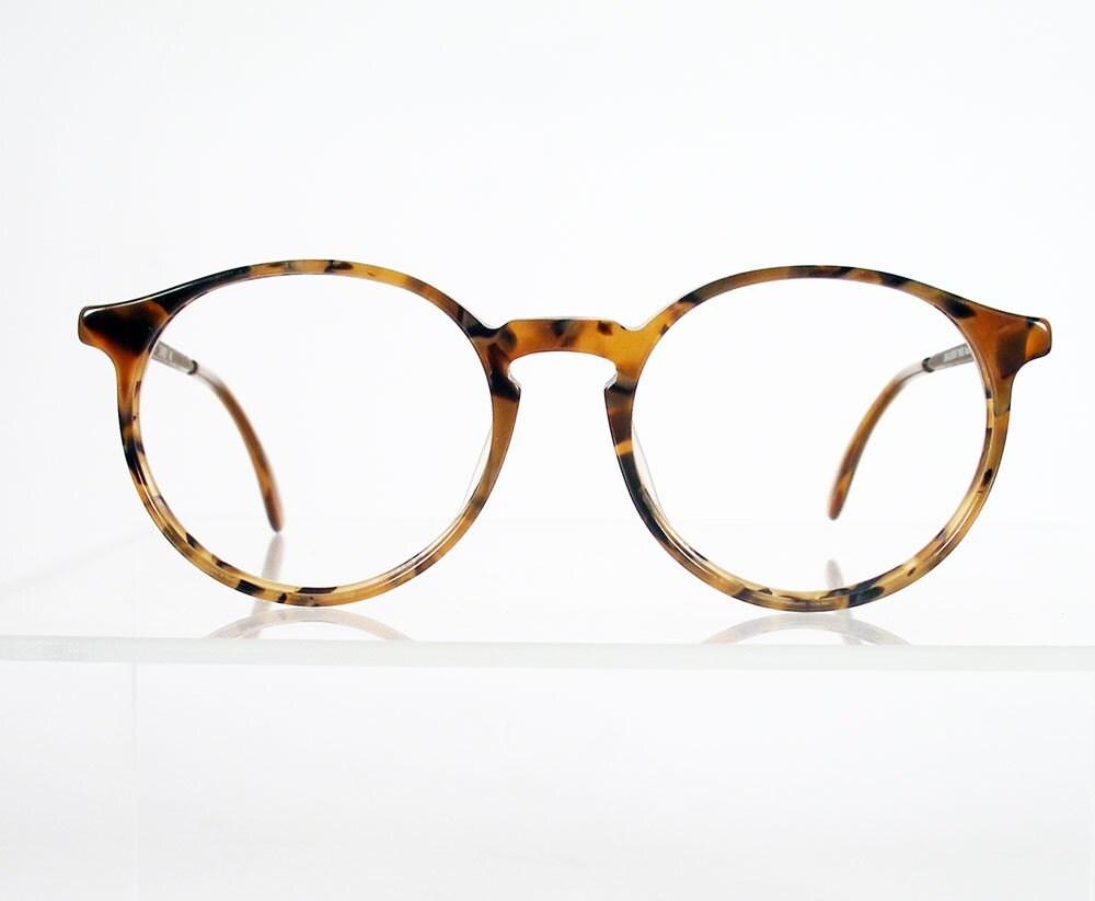 Ermenegildo Zegna Round Frame Glasses  Farfetch