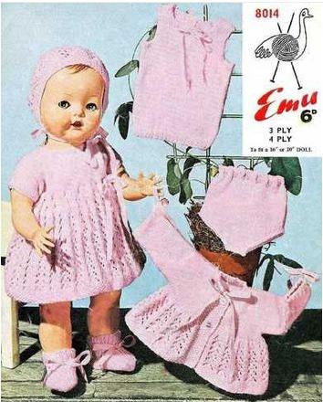 Doll Knitting Patterns Uk Free Patterns