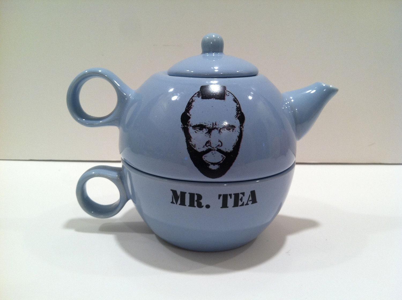 Mr. Tea teapot