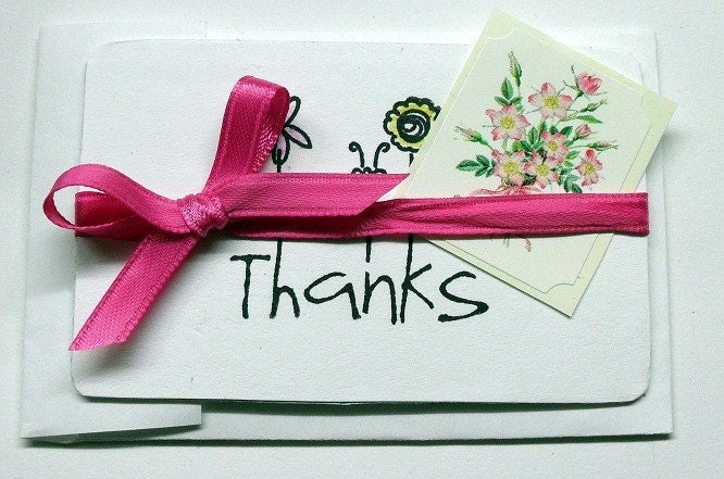Small Thank You Card