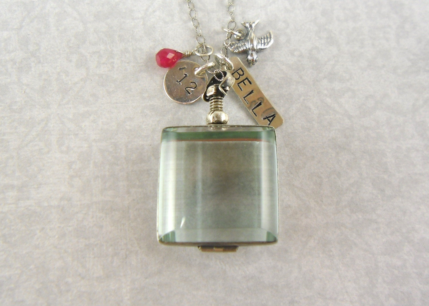 Graduation Gift, 2013, Glass Locket, Large, K ...