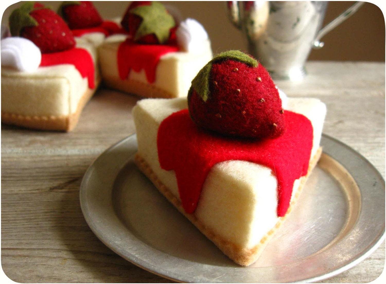 Клубничный торт Сыр фрагмент