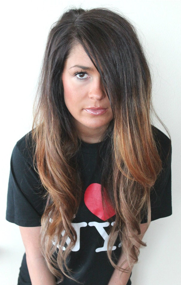 Dip Dyed Hair Extensions 65