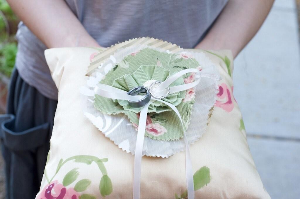 Garden Party кольцо предъявителя подушку
