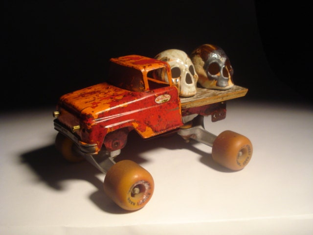 Skulls With Truck On Sale