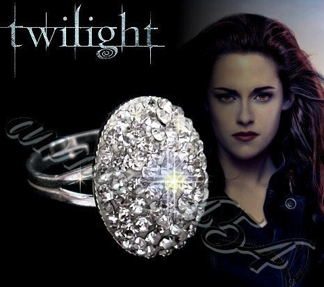 Twilight Breaking Dawn - Bella Swan & Edward engagement ring - 925 ...