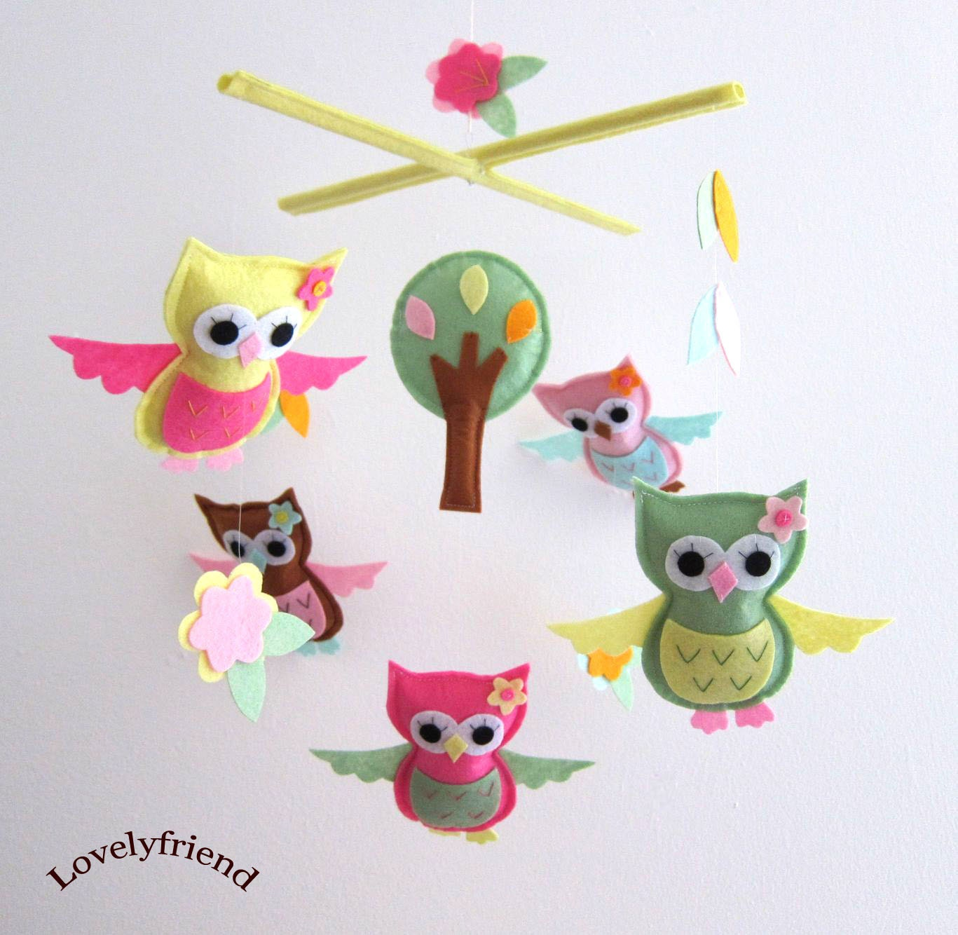 Adesivo Boca De Tubarão ~ Owl Mobiles For Cribs Bananafish Crib Mobile Wow Gifts Baby Mobiles And Nusery Decor 100