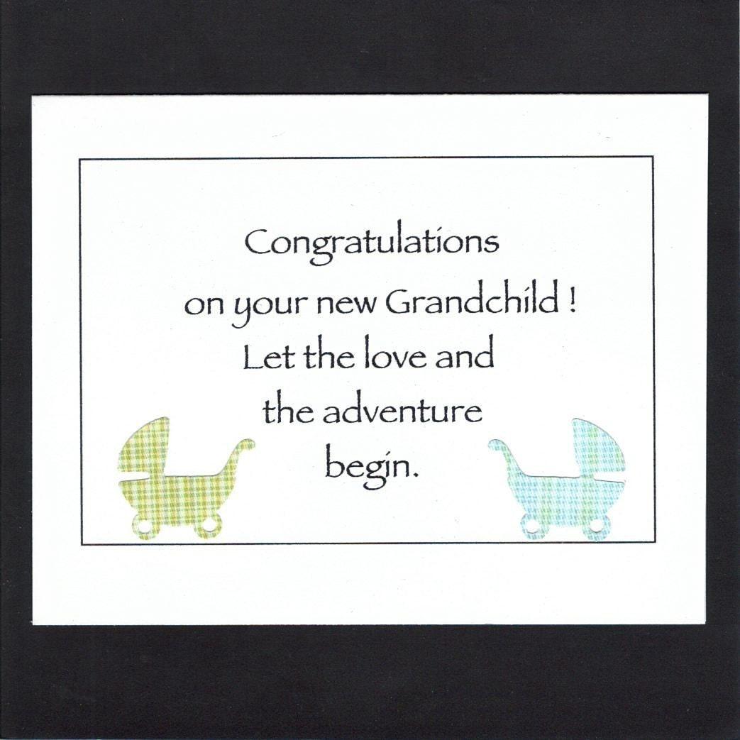 Congratulations New Grandparents