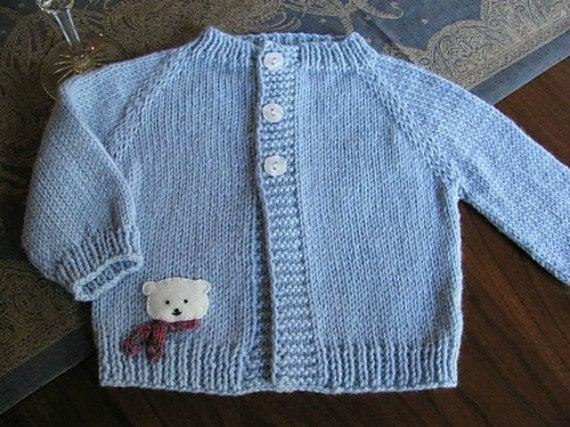 Baby Bear Cardi