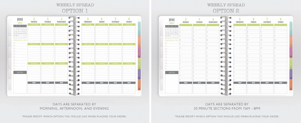 2013 Meal Planner