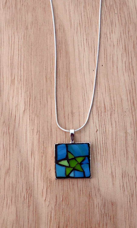 Star  Mosaic Pendant