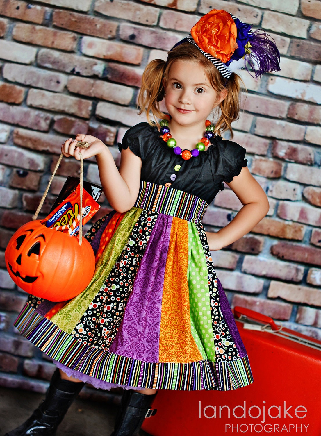 The Kat dress by Corinna Couture Halloween 2012 - CorinnaCouture