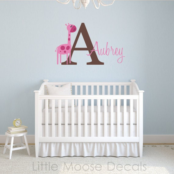 Nursery Wall Decals Baby Names