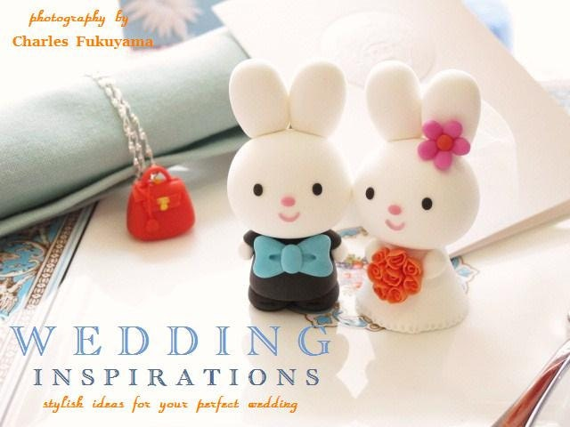 Custom Wedding Cake Topper -Handmade lovely , cute rabbit and bunny with sweet heart