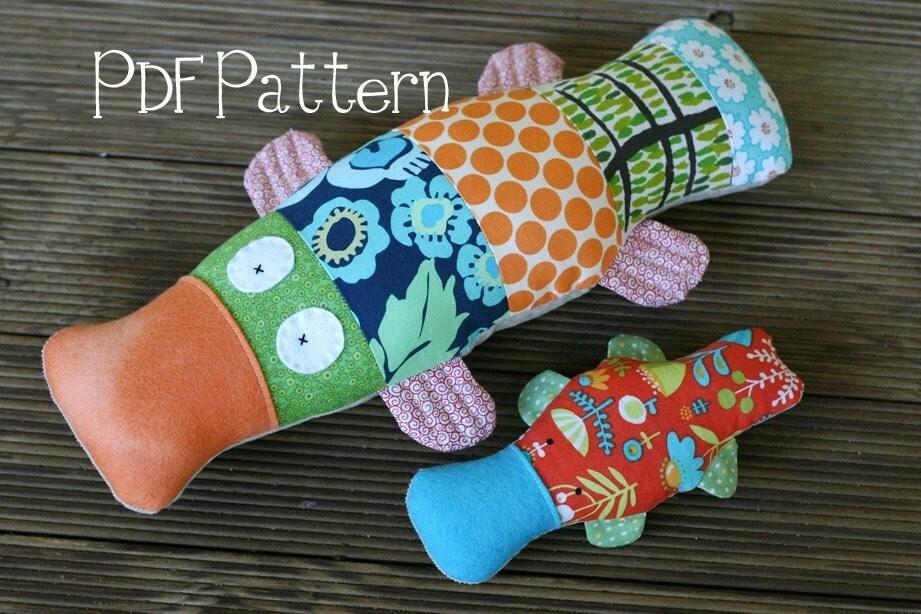 Platypus PDF Pattern