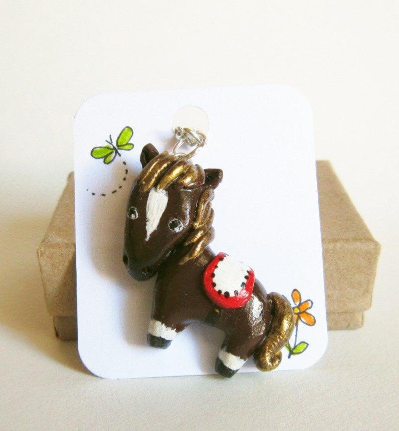 Horse necklace,  customizable animal jewelry,animal totem