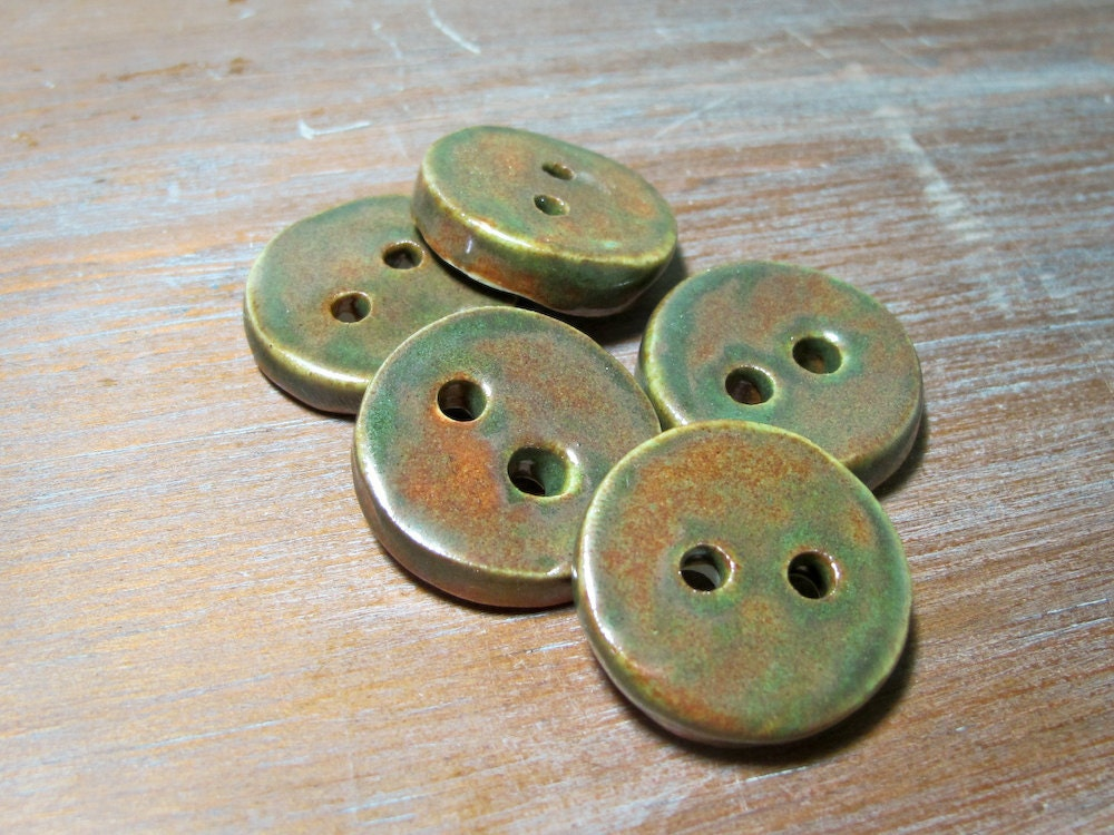 woodland buttons