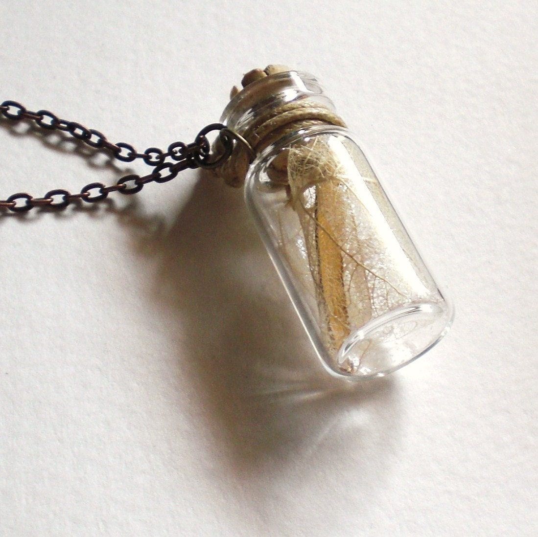 Fairy Wings in a Bottle Necklace - grendelboots