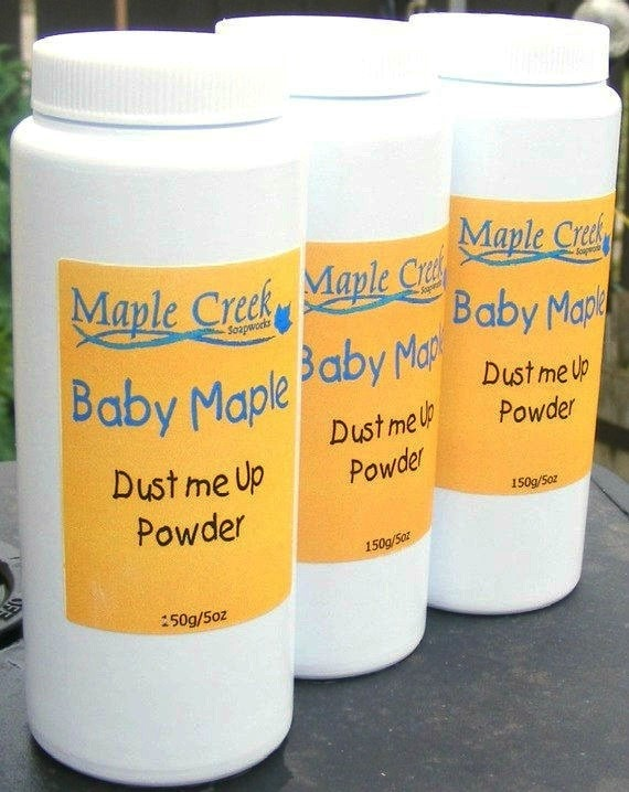 Dust me Up Baby Powder - Maplecreeksoap