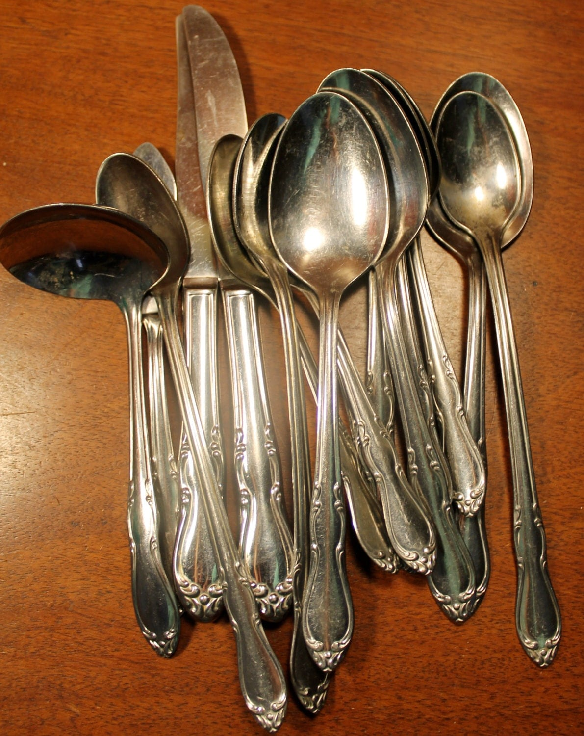 Stainless Flatware marked Minuet or Simeon George by AtomicHoliday