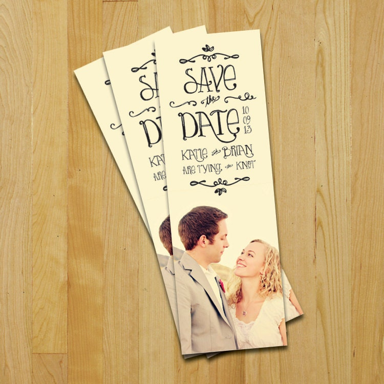 Pieces of Anna: Save-the-Dates, the DIY way