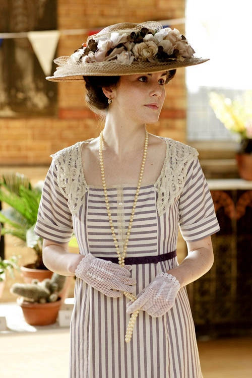 Titanic 1900s Downton Abbey Edwardian Mary Day Tea Gown Dress RESERVED for Kiserai 2nd Payment - MattiOnline