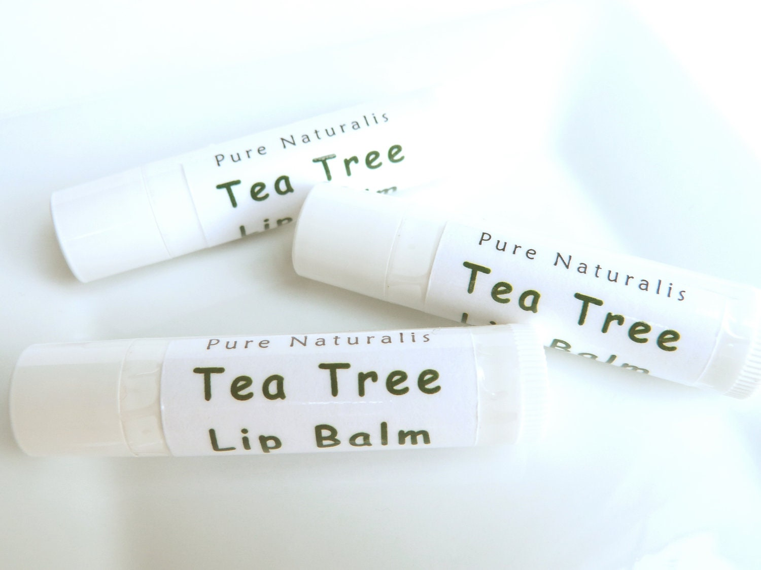 Unsweetened Tea Tree Lip Balm All Natural