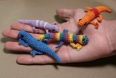 Amigurumi Halloween Free Patterns : GECKO LIZARD AMIGURUMI CROCHET PATTERN Free Crochet Patterns
