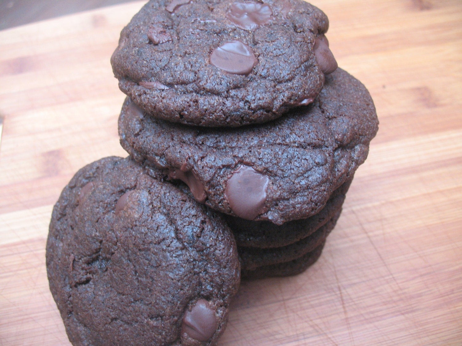Vegan Double Dark Chocolate Mocha Cookie Recipe -- 50% Proceeds to Charity
