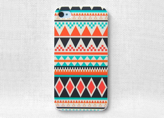 iPhone Case, iPhone Case 4, iPhone Case 4S, iPhone Case 4/4S - Aztec Pattern - 008