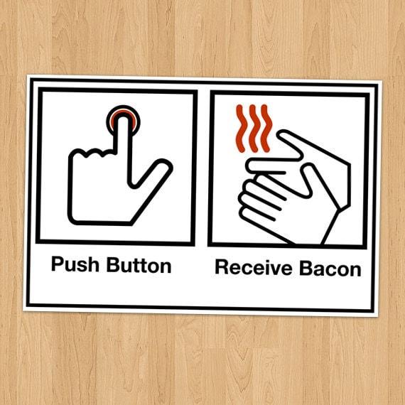 bacon meme
