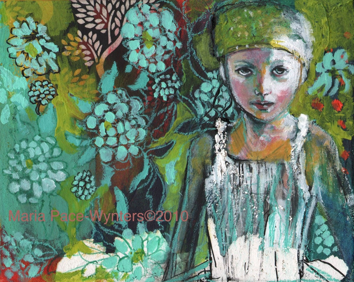 Postcard - The Wallpaper Jungle by Maria Pace-Wynters - MariaPaceWynters