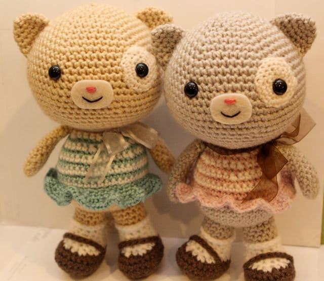 Crochet Amigurumi Pattern - Calliope Cat
