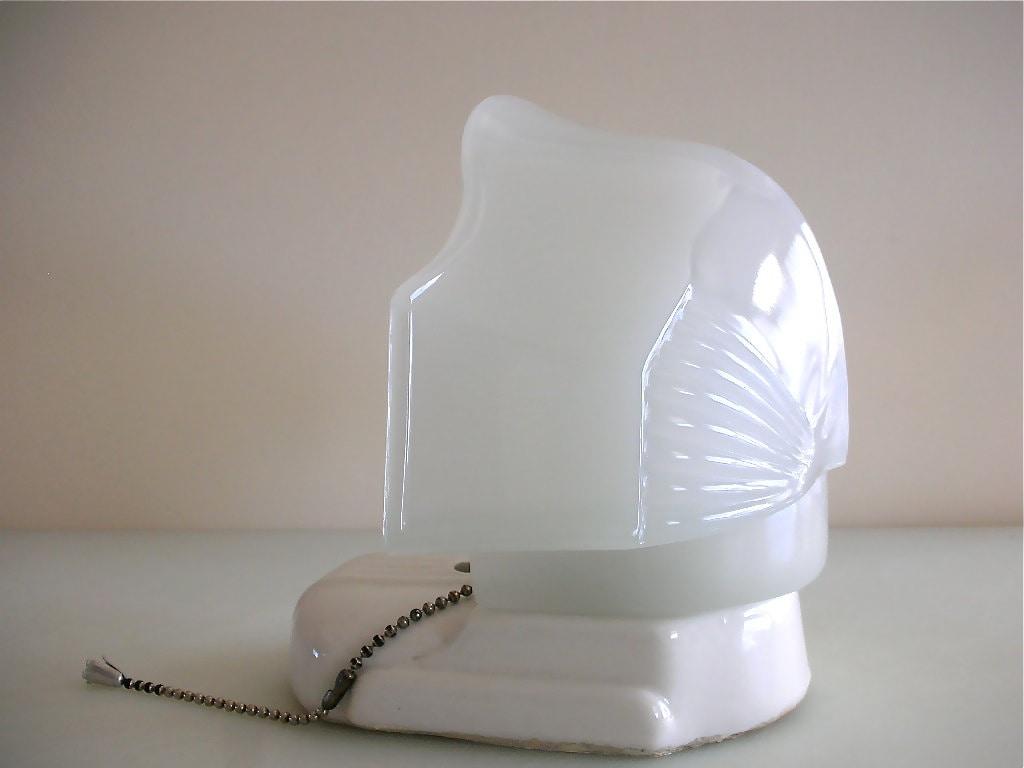 Bath Lighting Milk Glass