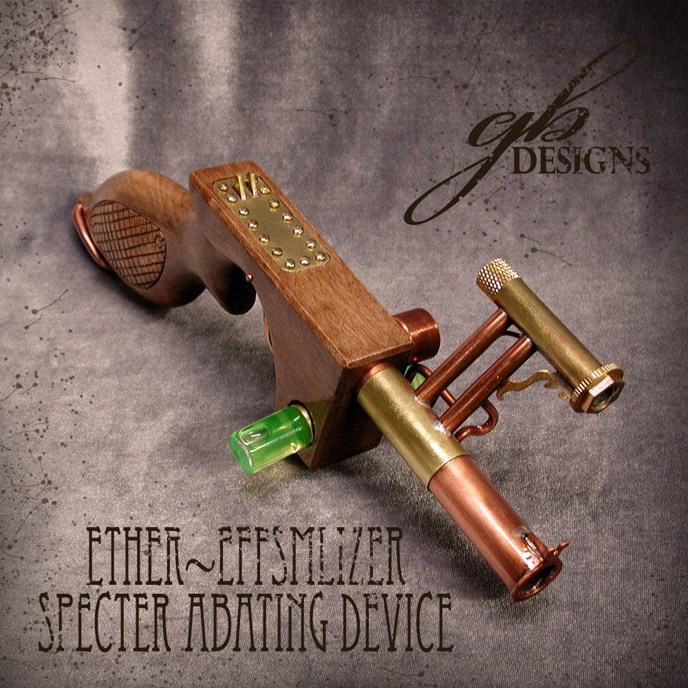 SteamPunk Pistol, Ether-effsmlizer (Prop, Pistol, Costume, Gun)