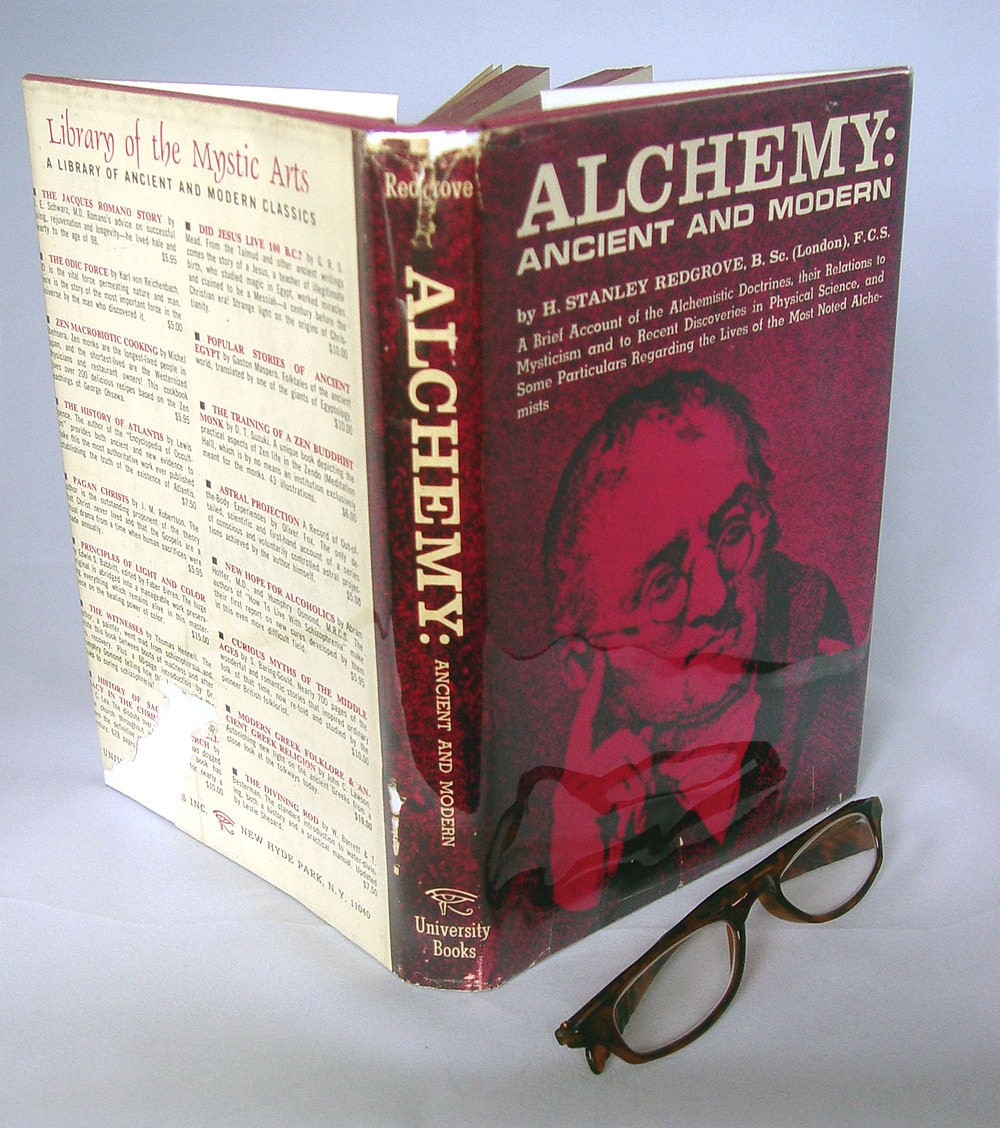 Alchemy Ancient and Modern by Redgrove 1969 - GyanarthiBookAnnex