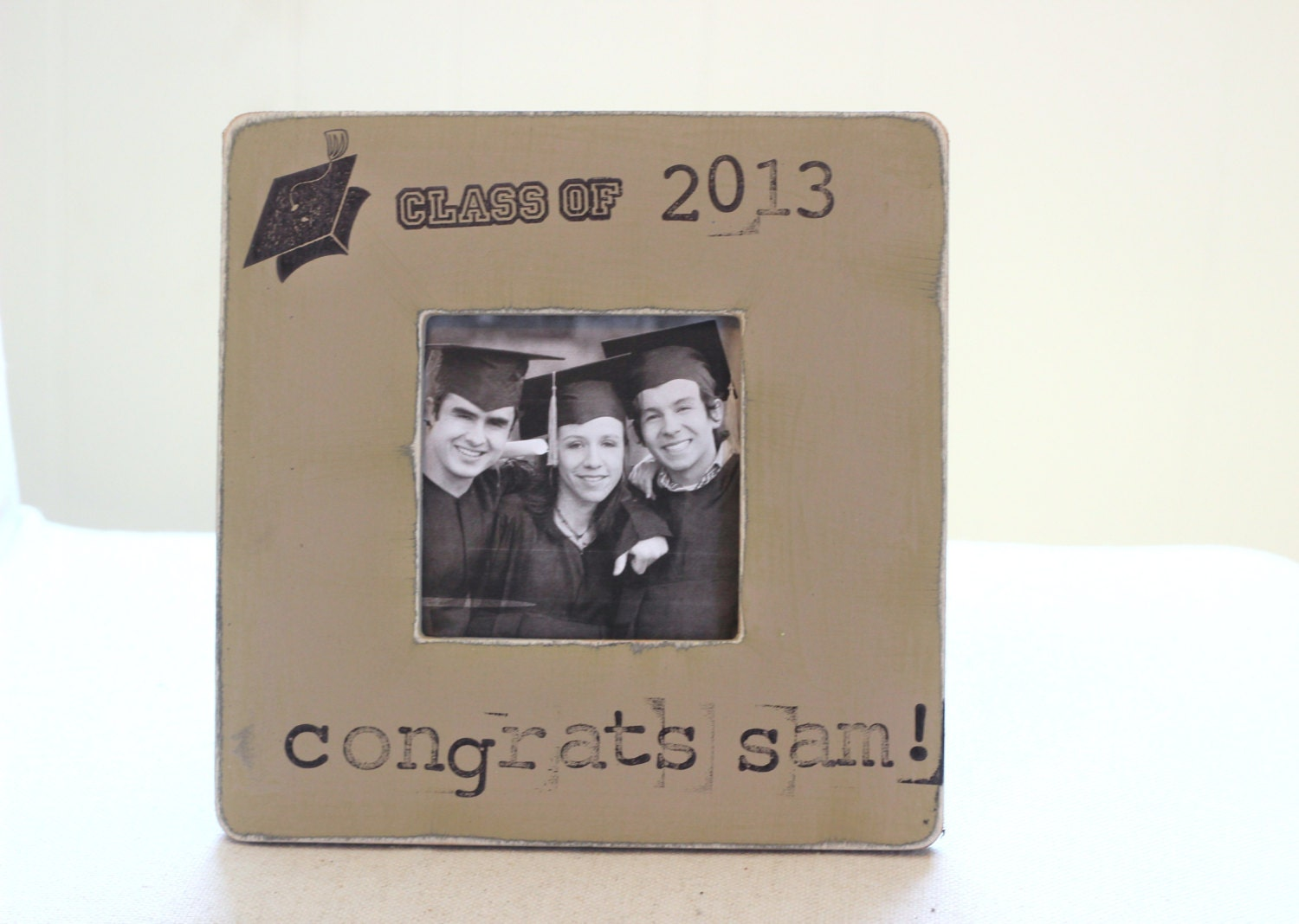 Graduation Gift Personalized Picture Frame. H ...